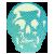 blue skull eligold
