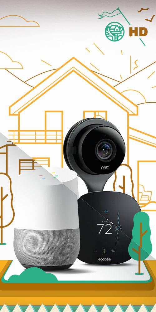 HD Smart Home Design Sprint
